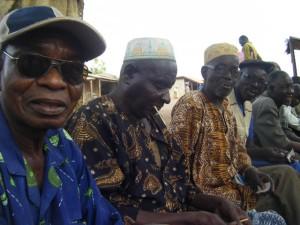 Moru Babatu and the Dagbani teachers